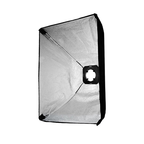 "50x70cm/20""x28"" Photo Softbox Kit with Universal Flash Strobe Head Speed Ring Adapter"