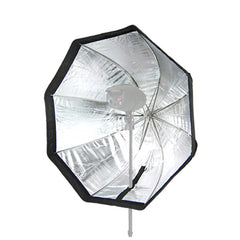 "32""/ 80cm Octagon Shape Portable Umbrella Reflector Softbox with Removable Shaft for Photo Video Lighting"