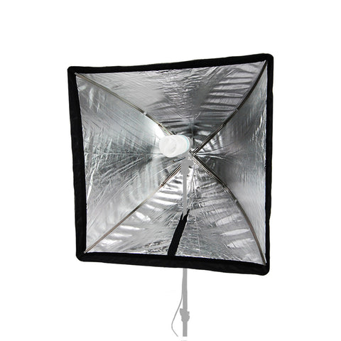 24'x24''/60x60cm Square Umbrella Softbox for Studio Flash Strobe Light Heads for Photography Lighting.