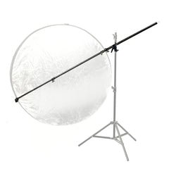 "33-82"" Boom Arm Extension for Light Heads and Reflectors with Adjustable Swivel Clamp for Photo Lighting"