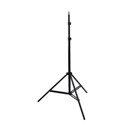 "Convenient 86"" Photo Video Adjustable Height Lighting Equipment Stand Aluminum Alloy"