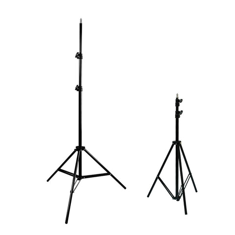 "Set of 2 Convenient 86"" Photo Video Adjustable Height Lighting Equipment Stand Aluminum Alloy"