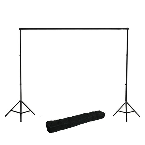 "102""/ 8.5ft Background Support System T1.4 Heavy Duty Adjustable Aluminum Alloy Stands, Crossbar and Carry Bag by Loadstone Studio"