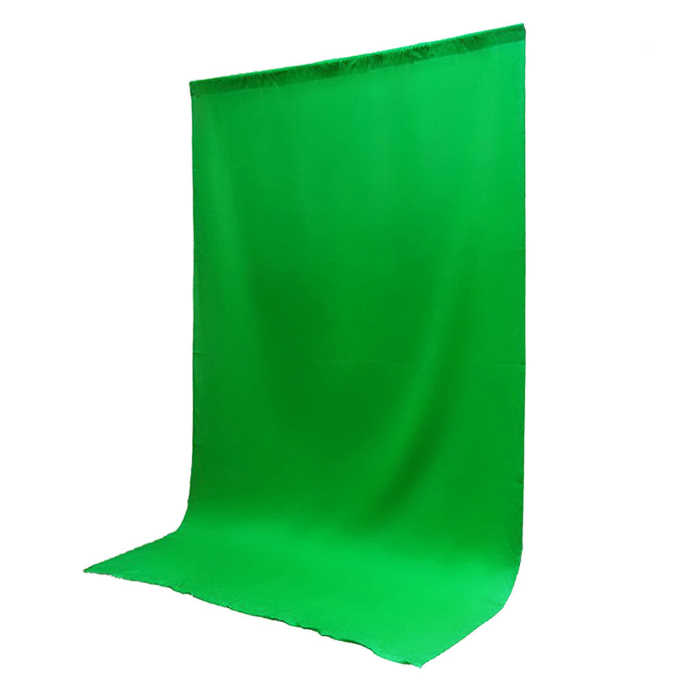10 x 20' ft. Chroma Key Green Screen Seamless Muslin Fabric Cloth Backdrop for Photography and Video by Loadstone Studio