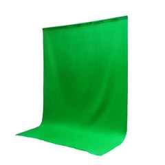 6x9' ft. Chroma Key Green Screen Seamless Muslin Fabric Cloth Backdrop for Photography and Video by Loadstone Studio