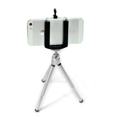 Portable Lightweight Mini Tripod Stand for Digital Camera and Smart Phones with Holder for Photography