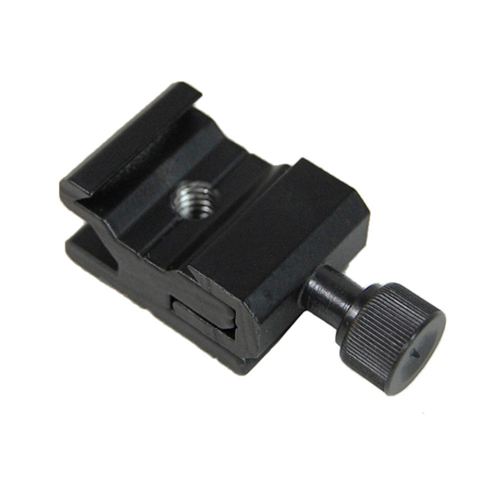 "Speedlite Flash Hot Shoe Mount Adapter 1/4""-20 Thread Heavy Duty for Camera and Photo Accessories"
