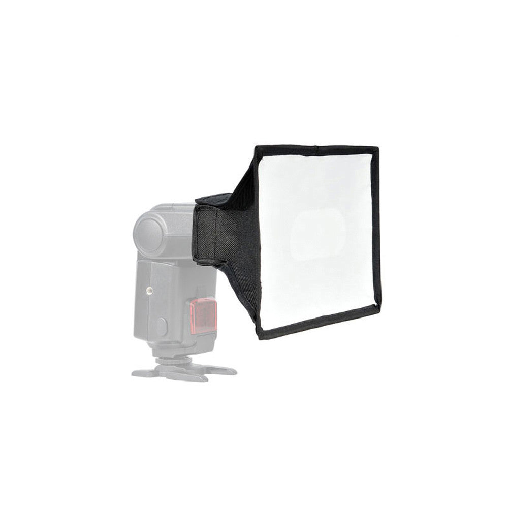 Portable Universal Photography Flash Softbox Diffuser w/ Velcro for Canon Nikon Olympus External Flash by Loadstone Studio