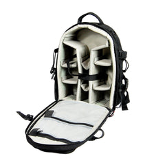 Exclusive Premium Heavy Duty DSLR Camera Lens Laptop Backpack Carry Bag Reinforced Seams Water Resistant