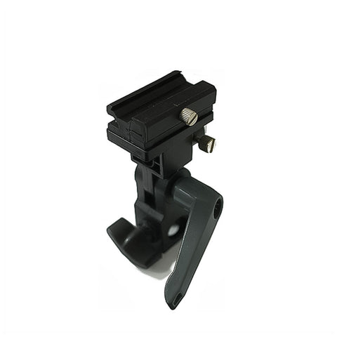 High Quality Umbrella Holder Speedlite Flash Adapter Stand Swivel Metal Hotshoe Mount with Locking Lever
