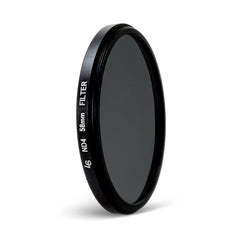58mm Double Threaded Neutral Density (ND4) Professional Photography Filter for Canon and Nikon Camera Lenses by Loadstone Studio