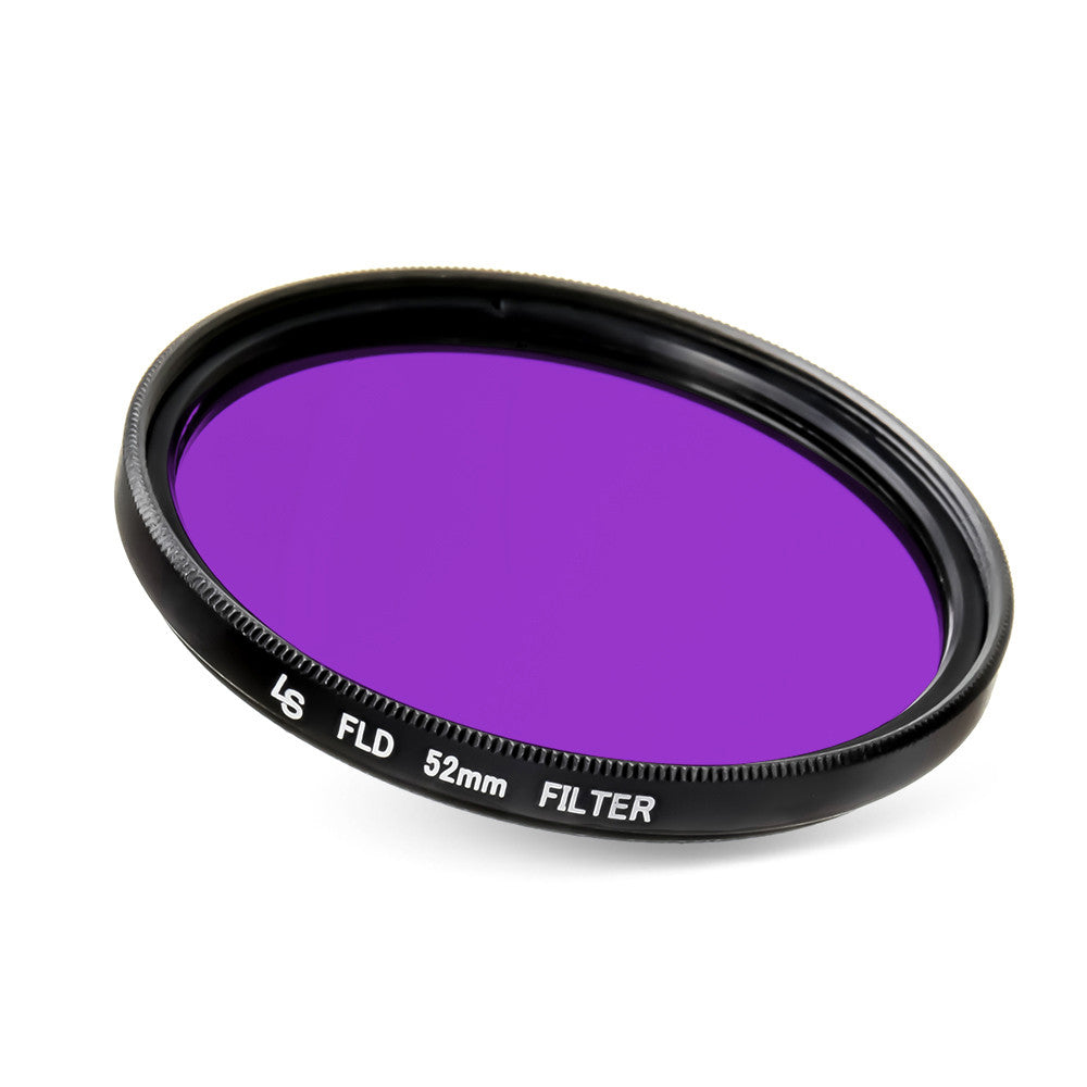 52mm Fluorescent Lighting FLD Low Profile Slim Design Lens Filter for Canon and Nikon DSLR Camera Lenses by Loadstone Studio