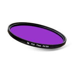 77mm Fluorescent Lighting FLD Light Low Profile Slim Design Lens Filter for Canon and Nikon Camera Lenses by Loadstone Studio