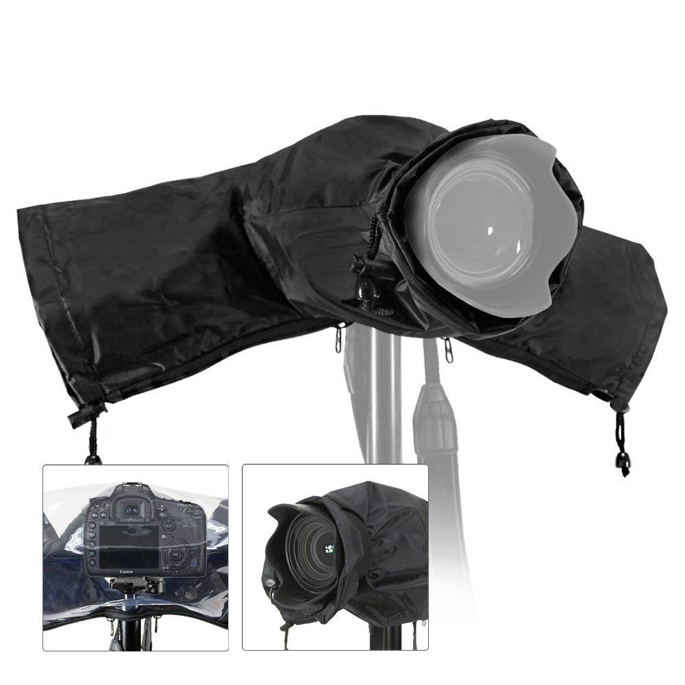 camera protector rain cover for canon nikon pentax dslr cameras