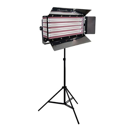 Loadstone Studio Photo Video Studio Lighting 550W Digital Light Fluroescent 4-Bank Barndoor Light Panel,