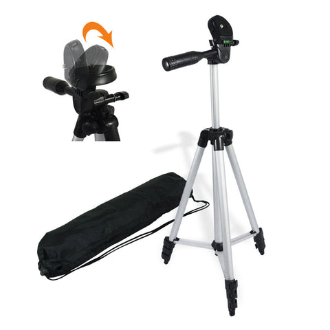 "50"" Lightweight Table Top Travel Tripod Camera Video Stand with Bag,"