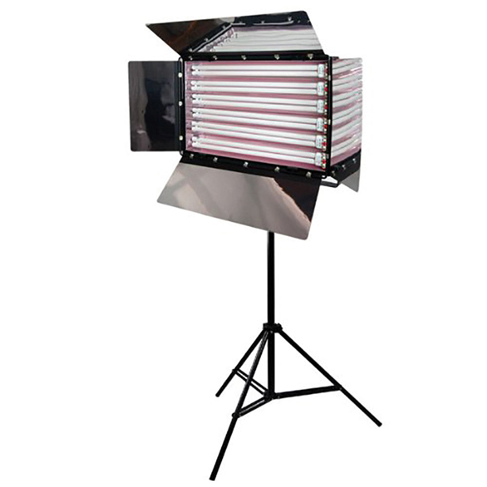 Loadstone Studio Photo Studio 550W Digital Light Fluorescent 6-Bank Barndoor Light Panel,