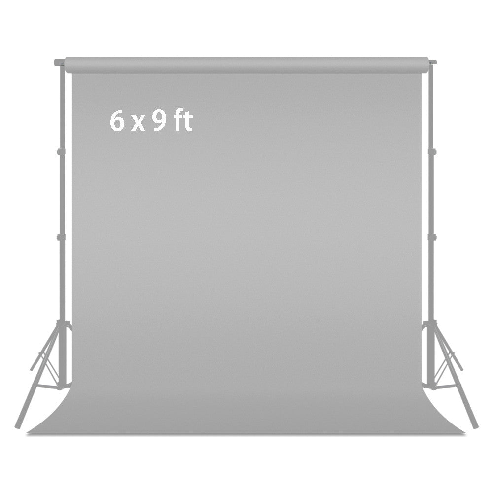 Loadstone Studio 6 ft X 9 ft Grey Chromakey Photo Video Photography Studio Fabric Backdrop Background Screen,