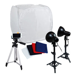 "Loadstone Studio Table Top Photography Photo Tent Kit, 30"" Tents Softboxes Continous Light with 50"" Camera Camcorder Stand Tripod,"