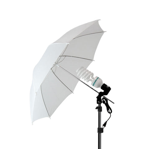 "2x 33"" Studio Lighting Umbrellas Translucent White soft Umbrella"