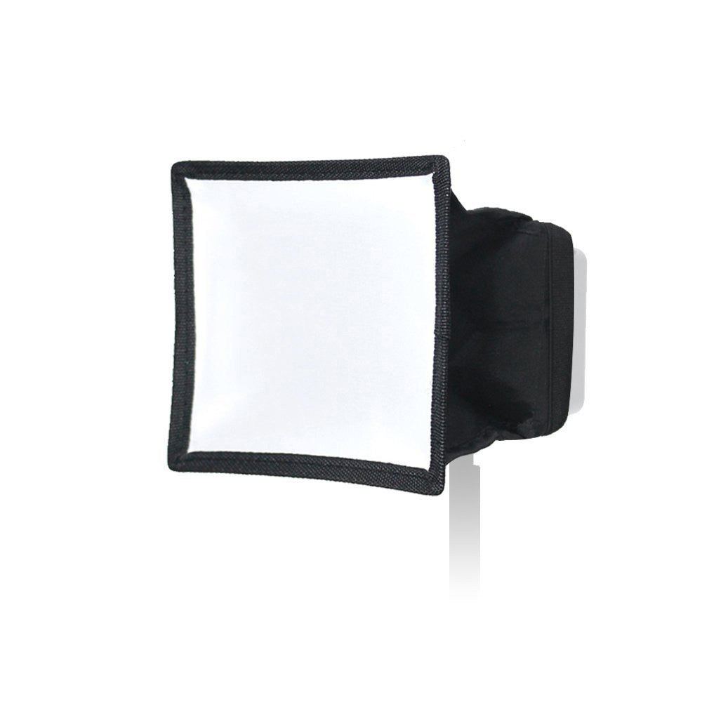 "6"" x 6.7"" (15x17cm) Collapsible Light Diffuser, Mini Softbox for Camera Photo Video LED Light Panel"