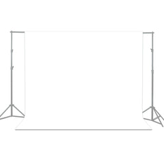10 x 12 ft. White Chromakey Photo Video Studio Fabric Backdrop, Background Screen, Pure White Muslin