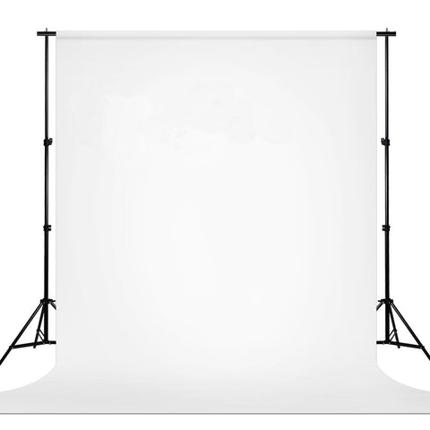 9 ft X 13 ft White Chromakey Photo Video Studio Fabric Backdrop, Background Screen, Pure White Muslin