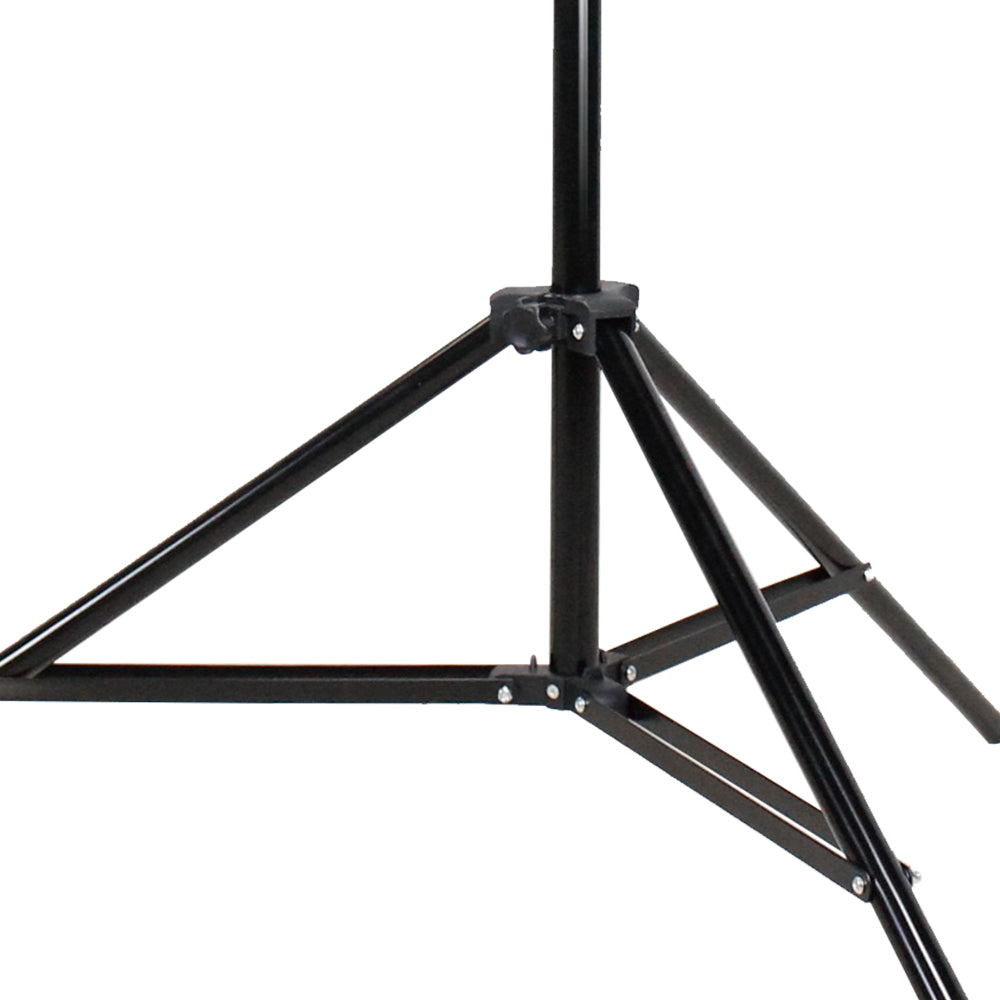 7.5 ft Photo Studio Light Stand for Photo Video Studio Softbox or Umbrella Lights with Hot Shoe Flash Bracket, Umbrella Mount Adapter