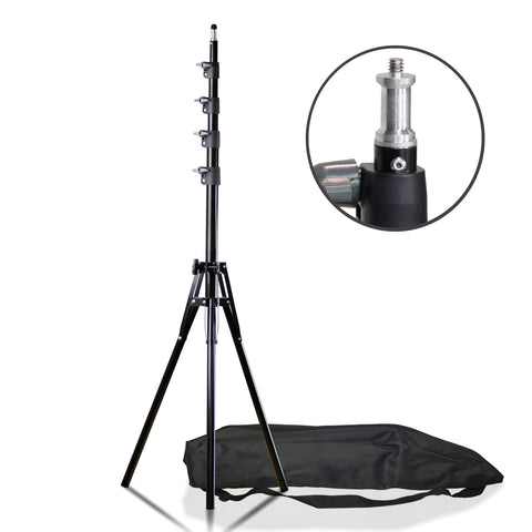 Loadstone Studio Max 94 inch Photography Lighting Stands Professional Studio Light Stand 4-Section for Photo Studio Reflectors, Softboxes, Lights, Umbrellas, Backgrounds, WMLS4542