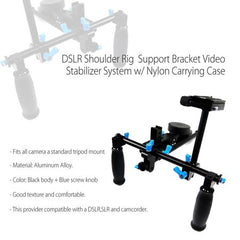 Professional DSLR Shoulder Rig Support Bracket Video Stabilizer System for Cinema Camera Shooting