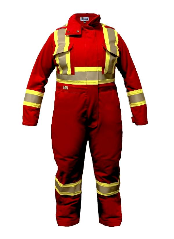 Insulated Coverall - Premium - Gear-Up Safety Solutions Inc.