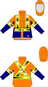 Insulated Jackets (New Version) - Standard - Gear-Up Safety Solutions Inc.