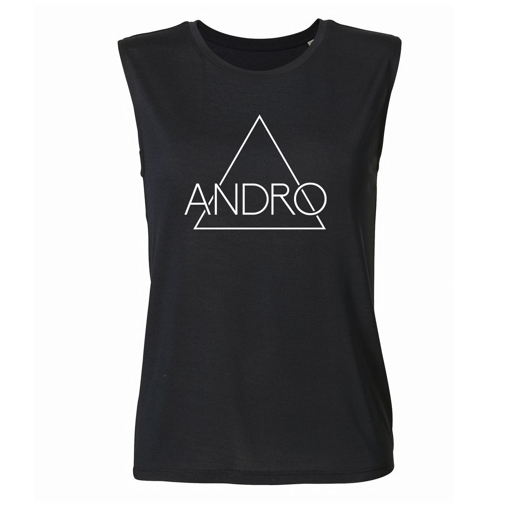 ANDRO TANK | BLACK - ANDRO CLOTHING GENDER FLUID ANDROGYNOUS CLOTHES FOR NON-BINARY LESBIAN AND LGBTQ+ FASHION