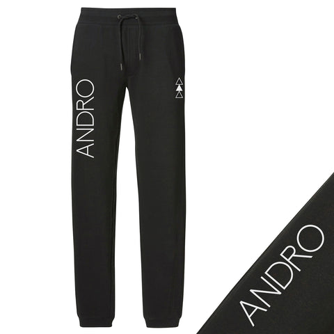 ANDRO JOGGERS | BLACK/WHITE