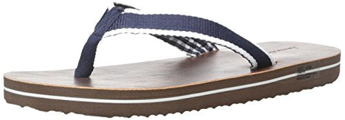 Hanna Andersson Liam Boy's Flip Flop (Toddler/Little Kid/Big Kid), Brown, 11 M US Little Kid