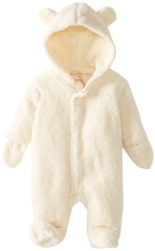 Magnificent Baby Unisex-Baby Infant Hooded Bear Pram, Cream, 3 Months