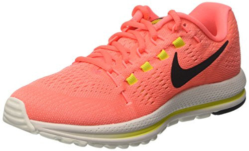 Nike Women's Wmns Air Zoom Vomero 12, HOT PUNCH/BLACK-LAVA GLOW, 8.5 US