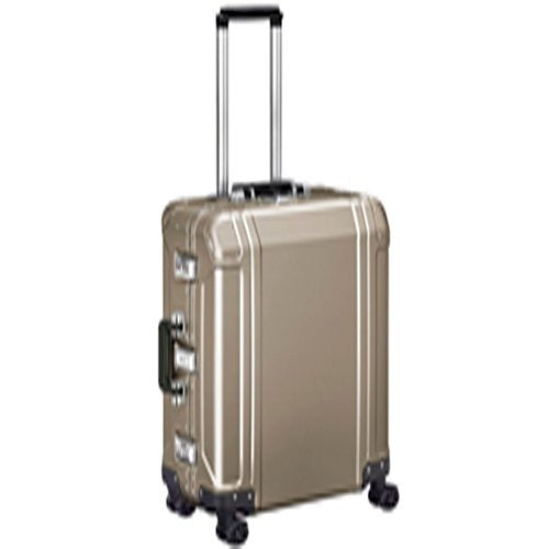 Zero Halliburton Geo Aluminum 2.0 24 4-Wheel Spinner Travel Case Bronze