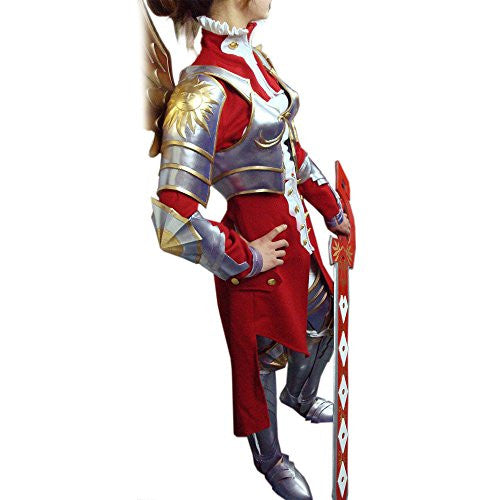 Mtxc Women's Ninety Nine Nights Cosplay Inphyy Outfit Size Medium Red