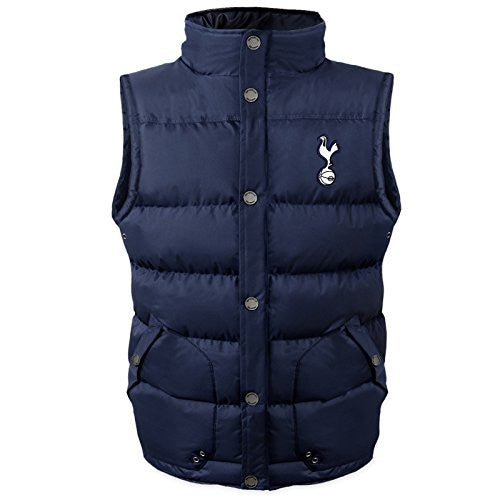 Tottenham Hotspur FC Official Gift Boys Padded Body Warmer Gilet 10-11 Years