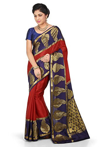 Pure Mysore Silk Saree in Red