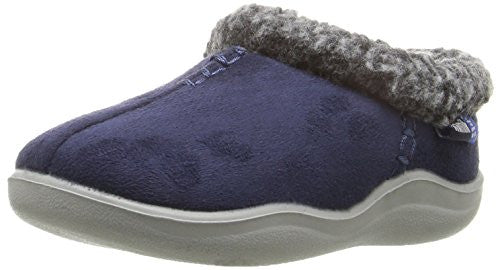 Kamik  Cozymanor Slipper , (Toddler/Little Kid/Big Kid) Navy, 11 M US Little Kid
