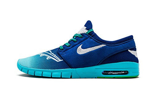 NIKE STEFAN JANOSKI MAX 'DOERNBECHER COLLECTION' BLUE/SILVER 898640 404 SZ 10