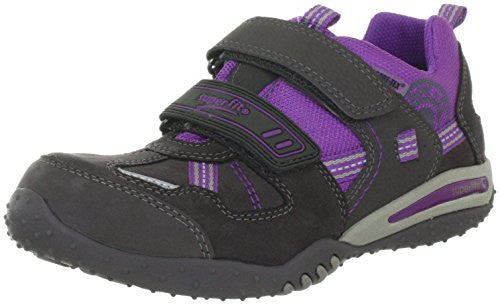 Superfit Big Girls' Leather-And-Mesh Sport 2 Shoes 30 EU Gray