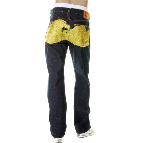 RMC JEANS The Dream of the Fishermans Wife Gold Limited Edition jeans REDM2975