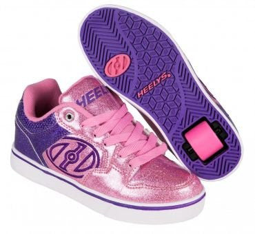 Heelys Youth 770818H Motion Sneakers, Purple/Pink/Glitter - 3