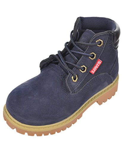 "Levi's Boys' ""Monitor"" Boots - navy, 7 toddler"