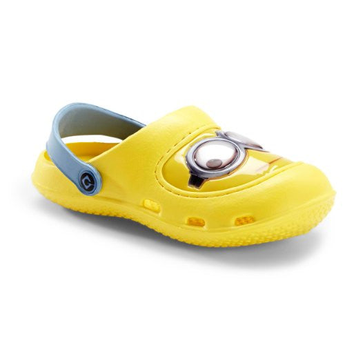 Despicable Me Kids Yellow Minions Clogs FJYE0327 (13/1 M US Little Kid)