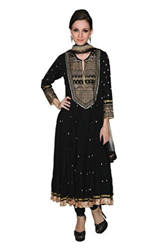 Ritu Kumar Women's Anarkali 38 Black