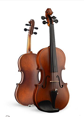 Full Size Solid Wood Mahogany Electric / Silent Violin with Ebony Fittings (3/4)